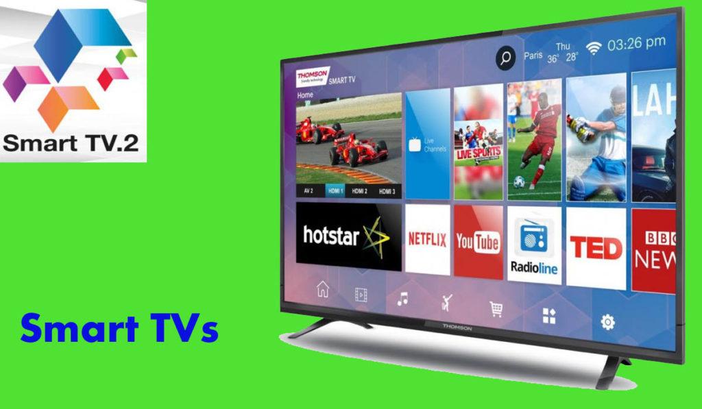 Thomson introduces new Smart TVs