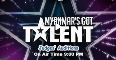 Myanmar's Got Talent Judges Audition MRTV-4 Live