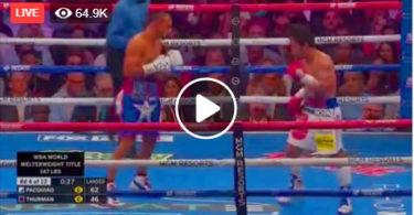 Paquiao vs Thurman fight Live Boxing