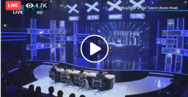 Myanmar's Got Talent Semi-Final Live On MRTV-4